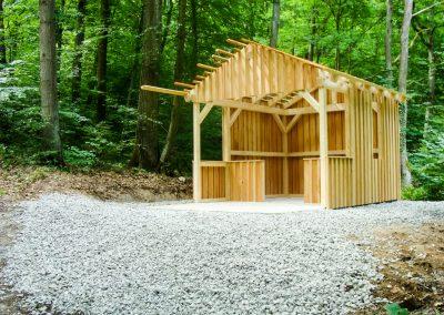 Schutzhütte am Steinbruchweg
